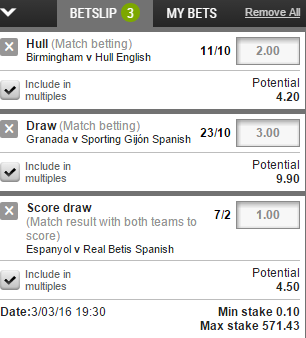 Betting Multiples Explained